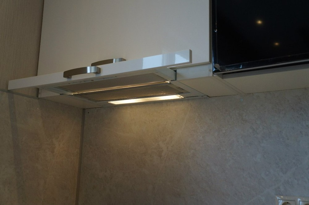 Белый кухонный гарнитур-Кухня из ЛДСП «Модель 196»-фото5