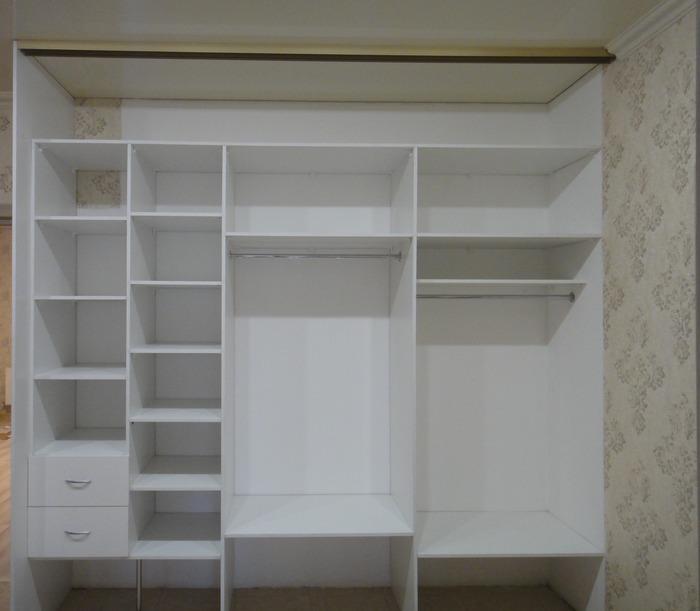 Белые шкафы-купе-Шкаф-купе с зеркалом «Модель 179»-фото4
