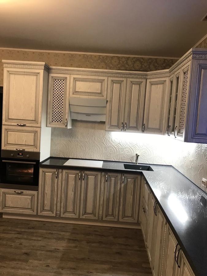 Встроенная кухня-Кухня МДФ в ПВХ «Модель 58»-фото2