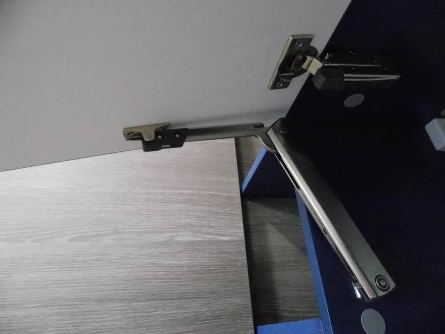 Встроенная кухня-Кухня МДФ в эмали «Модель 15»-фото9