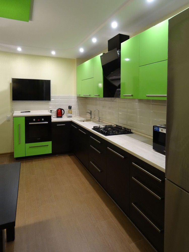 Акриловые кухни-Кухня из акрила «Модель 288»-фото1