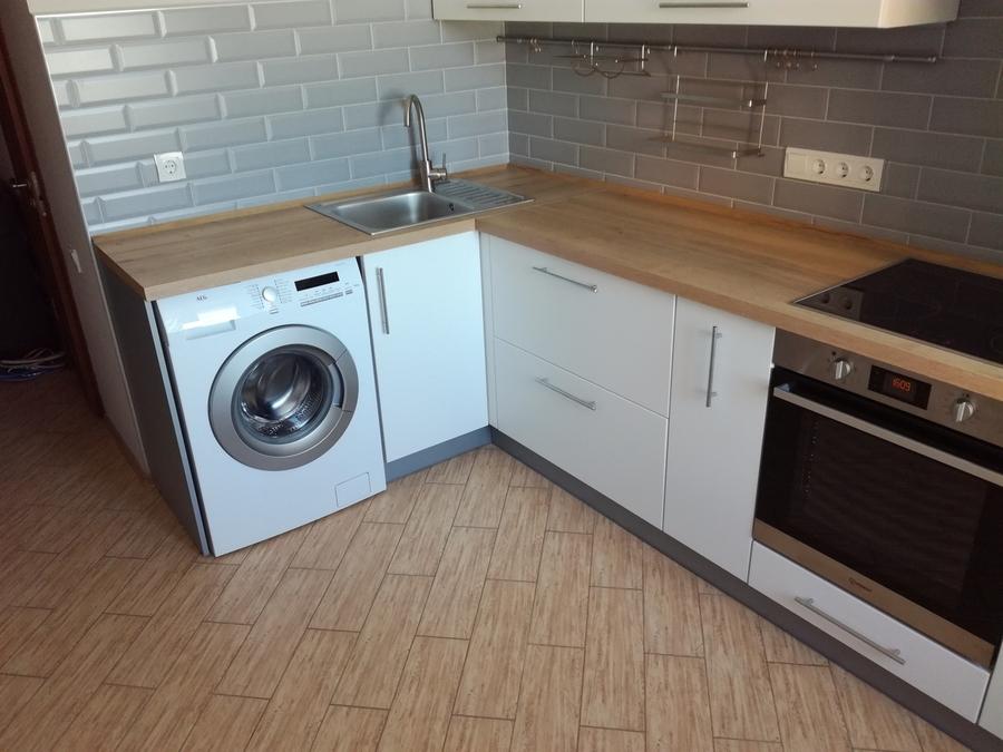 Белый кухонный гарнитур-Кухня МДФ в ПВХ «Модель 122»-фото2