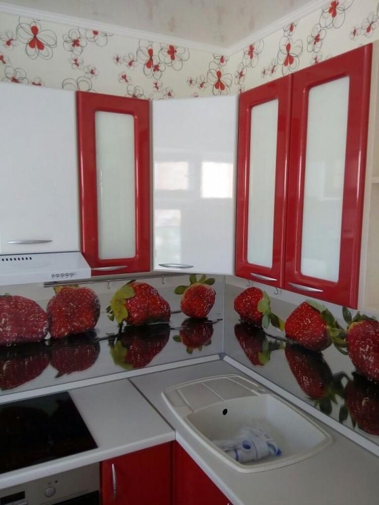 Встроенная кухня-Кухня МДФ в ПВХ «Модель 256»-фото2