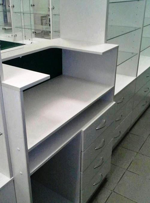 Торговая мебель-Мебель для аптеки «Модель 193»-фото1