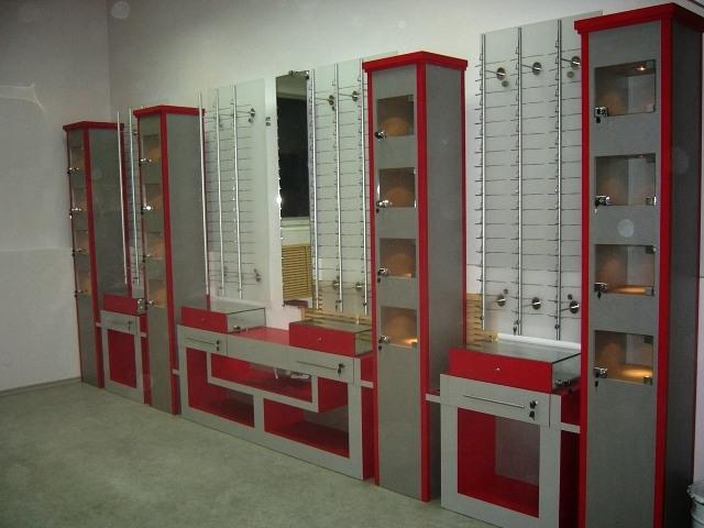 Торговая мебель-Мебель для оптики «Модель 196»-фото1
