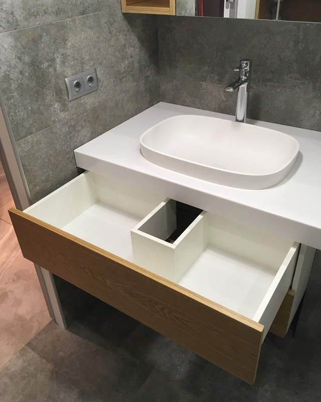 Мебель для ванной комнаты-Мебель для ванны «Модель 44»-фото4