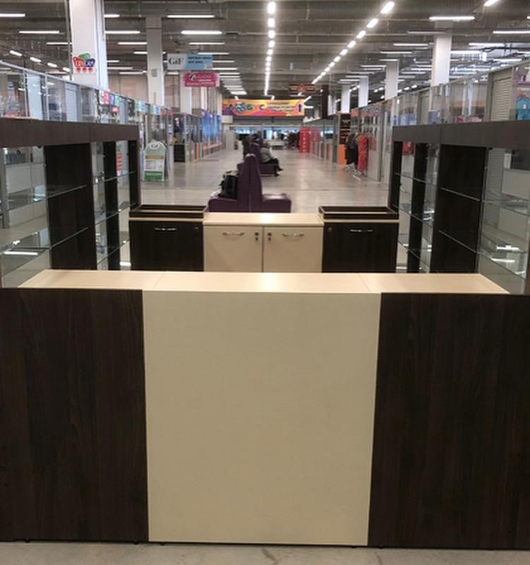 Торговая мебель-Торговый островок «Модель 235»-фото2
