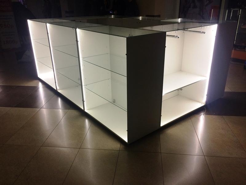 Торговая мебель-Торговый островок «Модель 244»-фото3