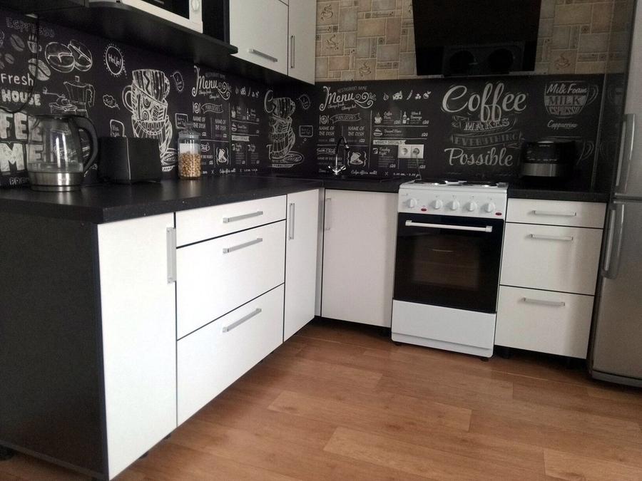 Белый кухонный гарнитур-Кухня из ДСП «Модель 325»-фото2