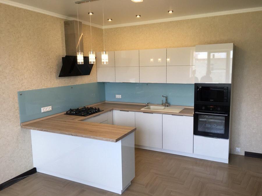 Акриловые кухни-Кухня из акрила «Модель 470»-фото1