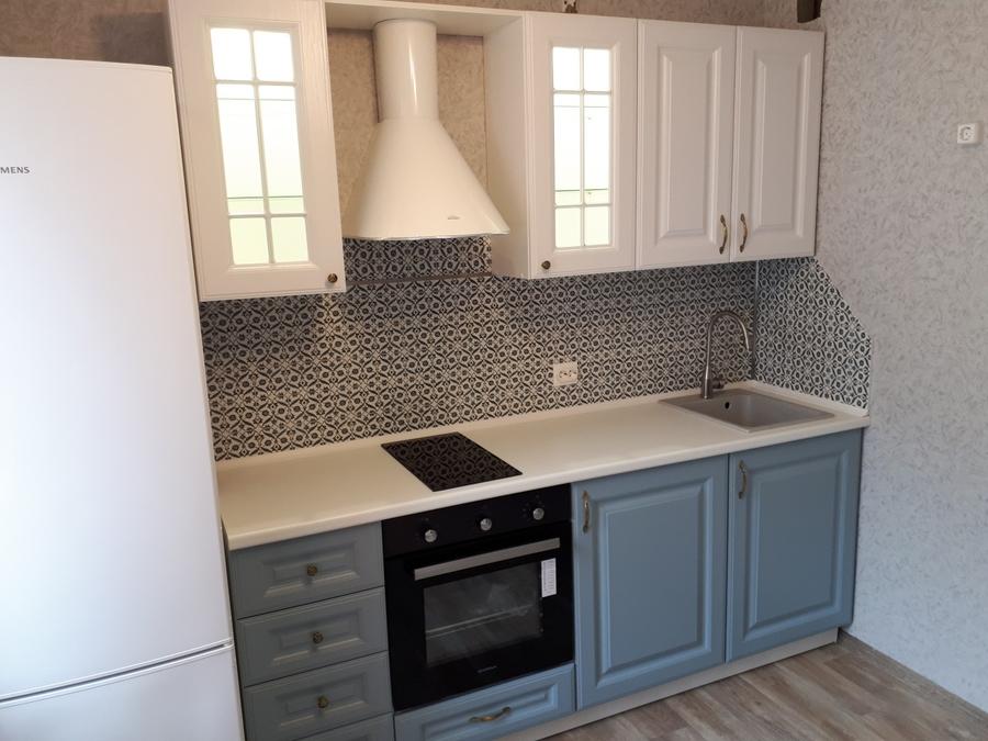 Белый кухонный гарнитур-Кухня «Модель 499»-фото2