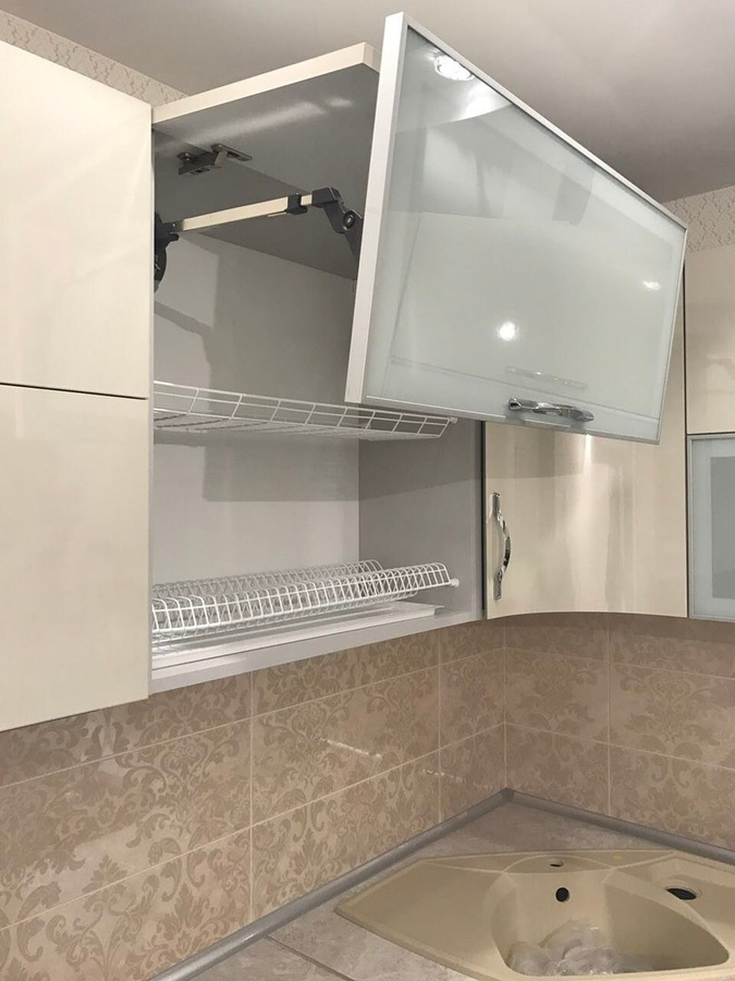Глянцевые кухни-Кухня из пластика «Модель 393»-фото6