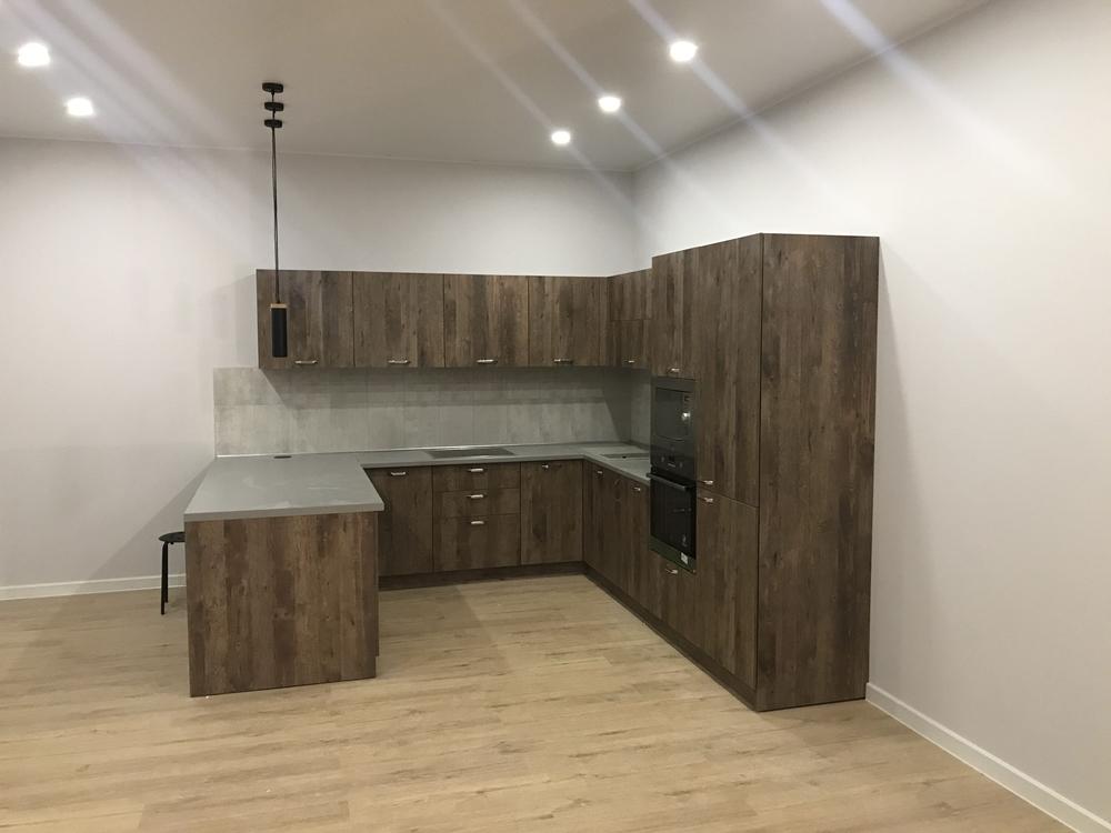 Купить кухню-Кухня из ЛДСП «Модель 552»-фото1