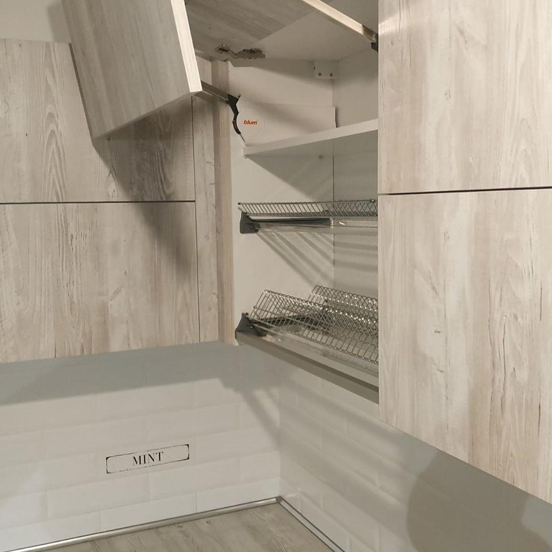 Белый кухонный гарнитур-Кухня из ЛДСП «Модель 626»-фото5