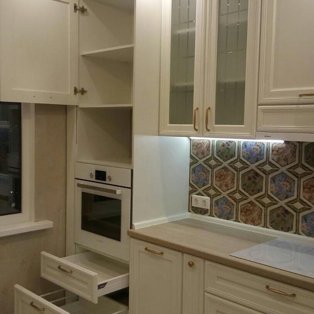 Акриловые кухни-Кухня из пластика «Модель 134»-фото13