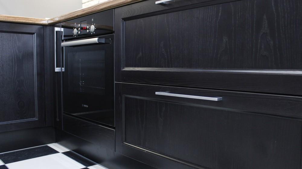 Встроенная кухня-Кухня МДФ в ПВХ «Модель 153»-фото5