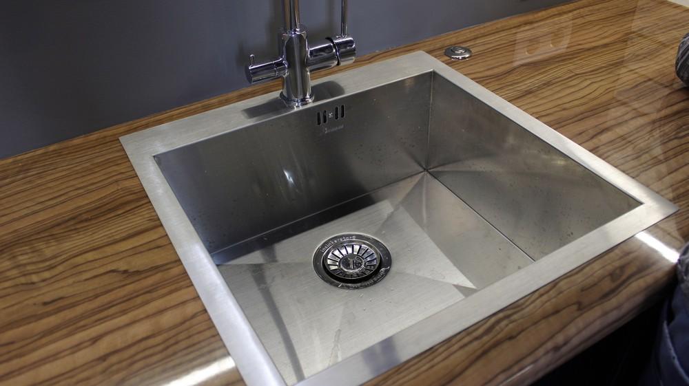 Встроенная кухня-Кухня МДФ в ПВХ «Модель 153»-фото7