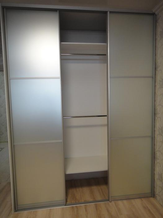 Белые шкафы-купе-Шкаф-купе с зеркалом «Модель 179»-фото2