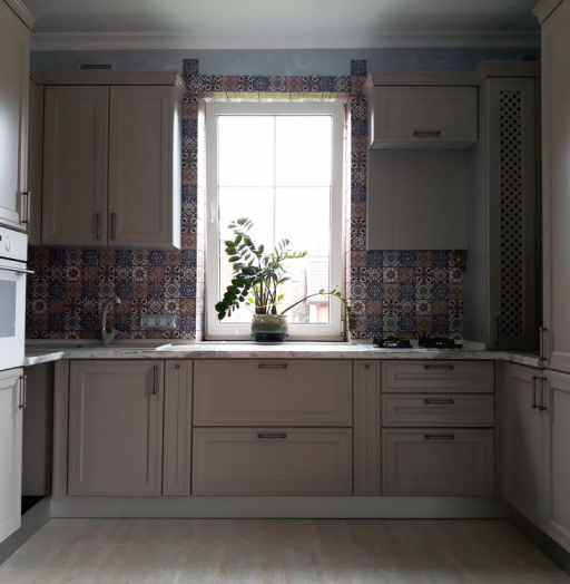 -Кухня МДФ в эмали «Модель 283»-фото20