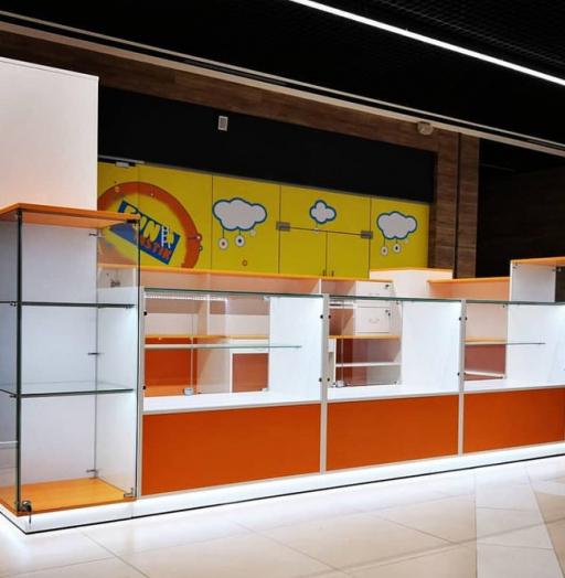Торговая мебель-Торговый островок «Модель 258»-фото2