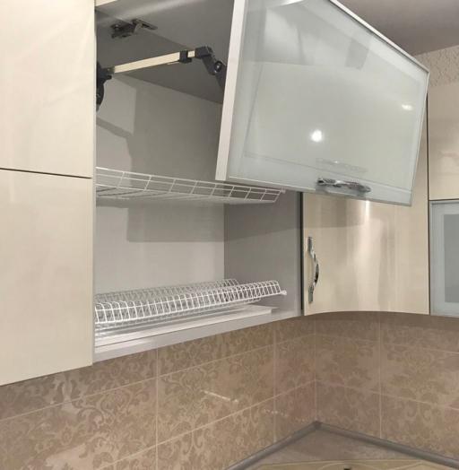 Глянцевые кухни-Кухня из пластика «Модель 393»-фото8