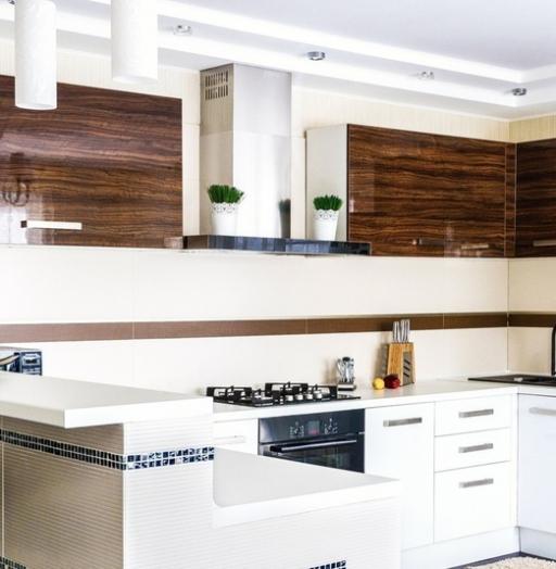-Кухня из акрила «Модель 407»-фото28