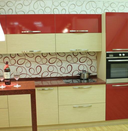 -Кухня из пластика «Модель 129»-фото10