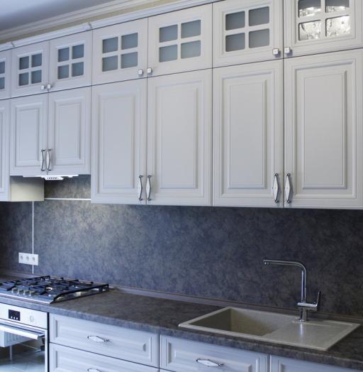 -Кухня МДФ в ПВХ «Модель 147»-фото14