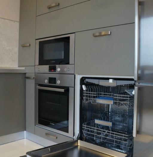 Белый кухонный гарнитур-Кухня из ЛДСП «Модель 196»-фото8