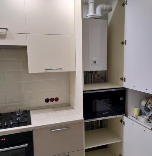 Акриловые кухни-Кухня из пластика «Модель 536»-фото10