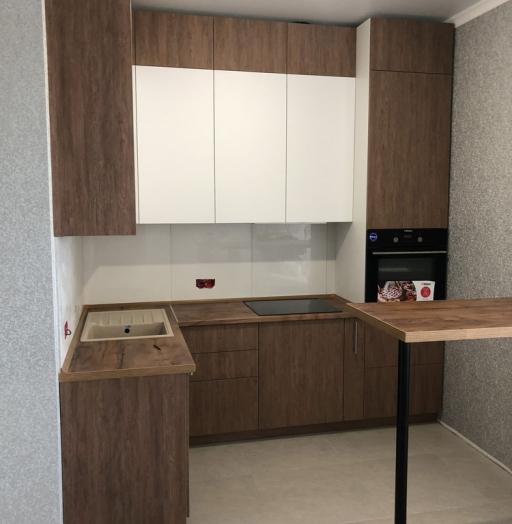 Купить кухню-Кухня МДФ в ПВХ «Модель 73»-фото2