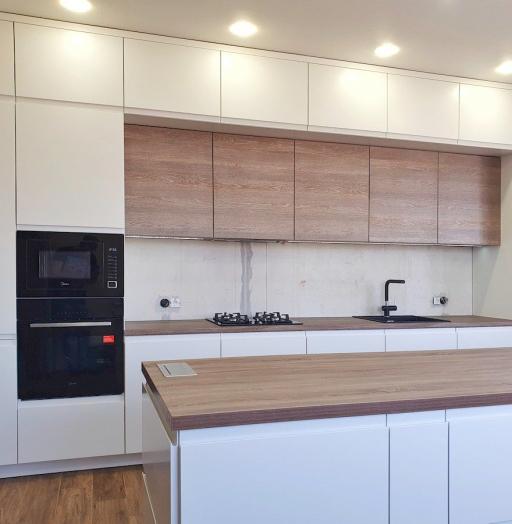 -Кухня МДФ в эмали «Модель 545»-фото28