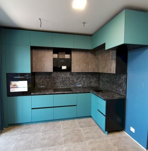 -Кухня МДФ в ПВХ «Модель 576»-фото17
